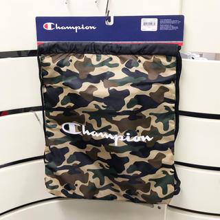 チャンピオン(Champion)の新品 チャンピオン ナップサック 1006-310 ブラック/カモフラージュ(バッグパック/リュック)