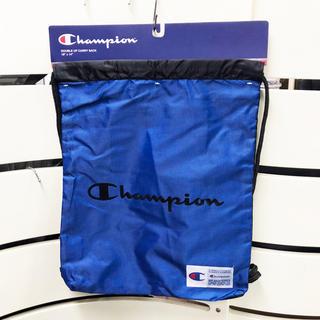 チャンピオン(Champion)の新品 チャンピオン ナップサック 1006-421 ブルー/ブラック(バッグパック/リュック)