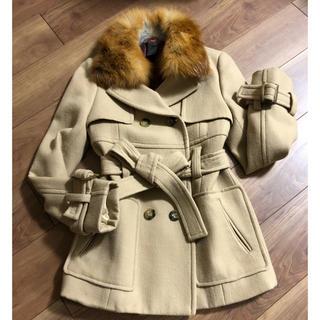ダブルスタンダードクロージング(DOUBLE STANDARD CLOTHING)のダブスタ トレンチ風コート(毛皮/ファーコート)