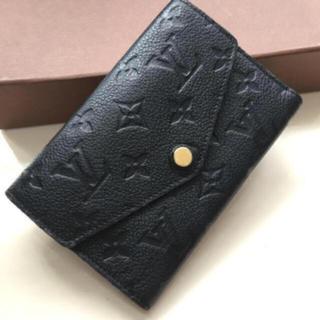 LOUIS VUITTON - 正規品ルイヴィトンアンプラント折財布 黒