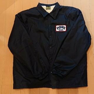 TENDERLOIN - ブラック Lサイズ pork chop ボアコーチジャケット さんタク キムタク