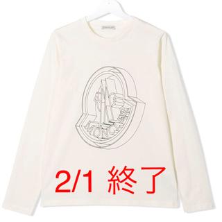 モンクレール(MONCLER)のモンクレール 14A 大人気! レア ! MONCLER  長袖 ロンT 正規品(Tシャツ(長袖/七分))