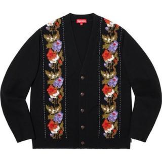 シュプリーム(Supreme)のsupreme Floral Stripe Cardigan(カーディガン)
