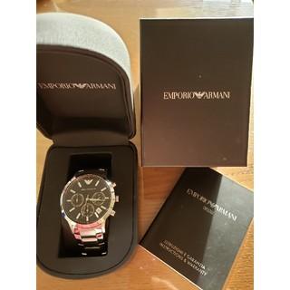 Emporio Armani - 【新品電池交換済み】 EMPORIO エンポリオアルマーニ 腕時計 メンズ