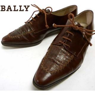 バリー(Bally)のイタリア製 バリー BALLY レザーシューズ  25-25.5cm(サンダル)