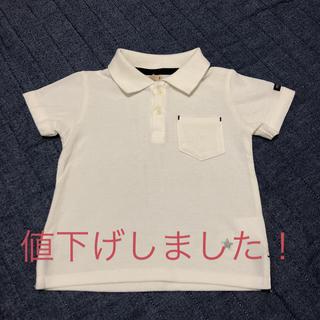 プティマイン(petit main)のポロシャツ 半袖 子供用 90cm(Tシャツ/カットソー)
