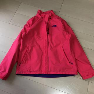 ザノースフェイス(THE NORTH FACE)のノースフェイス マウンテンジャケット ピンクオレンジ クリーニング済 XL(ナイロンジャケット)