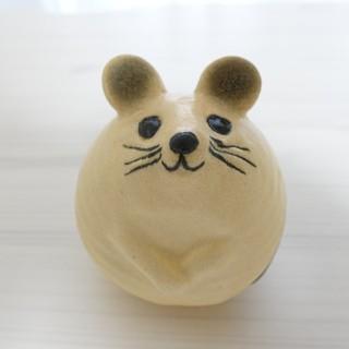 Lisa Larson - 【新品未使用】 リサラーソン 3匹のねずみ ねずみ ネズミ ホワイト 白