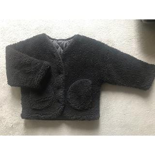 プティマイン(petit main)の韓国子供服 アウター 90cm ボアコート(ジャケット/上着)