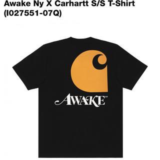アウェイク(AWAKE)の【Sサイズ込み】Awake Ny X Carhartt S/S T-Shirt (Tシャツ/カットソー(半袖/袖なし))