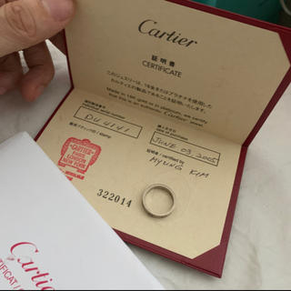 Cartier - カルティエ cartier ミニラブリング  9号 49