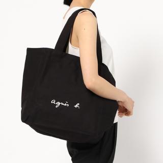 agnes b. - 【新品タグ付き】アニエスベー コットン トートバッグ  ボヤージュ ブラック