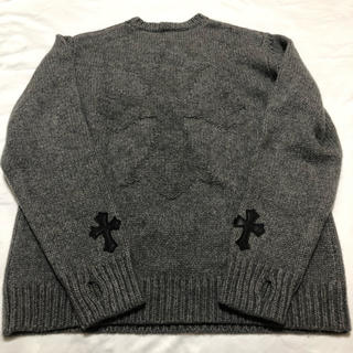 Chrome Hearts - クロムハーツ グレー ニットセーター