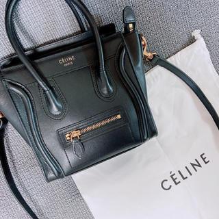celine - 【値下げ中】セリーヌラゲージ風 ナノ ブラック