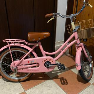 ブリヂストン(BRIDGESTONE)のキッズ自転車 HACCHI  16インチ 引き取り限定(自転車)