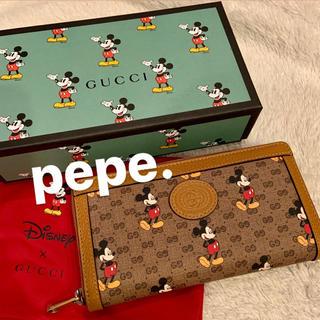 Gucci - GUCCI グッチ ミッキー ディズニー コラボ 長財布 ウォレット 即発送