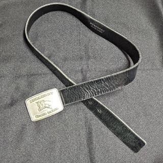 バーバリーブラックレーベル(BURBERRY BLACK LABEL)のバーバリーブラックレーベル レザーベルト(ベルト)