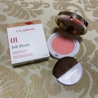 クラランス(CLARINS)のクラランス ジョリーブラッシュ 01(チーク)