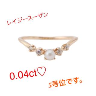 agete - レイジースーザン  リング指輪 ピンキー