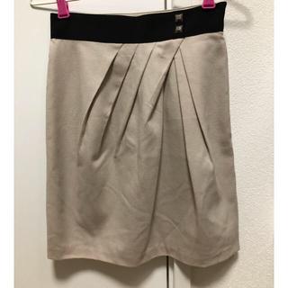 ナチュラルビューティーベーシック(NATURAL BEAUTY BASIC)のナチュラルビューティー ウール タイトスカート(ひざ丈スカート)