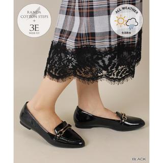ランダ(RANDA)の晴雨兼用ビットシューズ3E(ローファー/革靴)