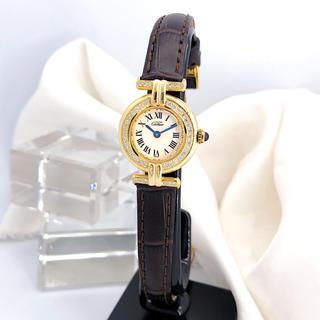 Cartier - 【仕上済/ベルト二色付】カルティエ コリゼ ゴールド ダイヤ レディース 時計