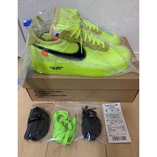 NIKE - NIKE×Off-White AIRforce 1 ボルト