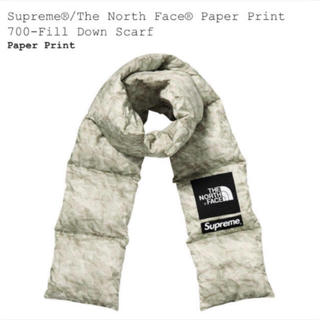 Supreme - Supreme The North Face Paper print Scarf