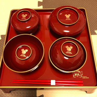 ディズニー(Disney)のお食い初め食器(ディズニー・男の子用)(お食い初め用品)