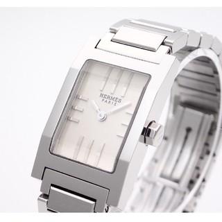 Hermes - 【HERMES】エルメス腕時計 'タンデム' ☆シルバーダイヤル [美品]☆
