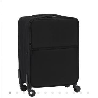 ムジルシリョウヒン(MUJI (無印良品))の無印 ソフトキャリー s ブラック(スーツケース/キャリーバッグ)