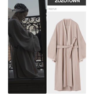 Maison de Reefur - メゾンドリーファー 梨花さん着用 ガウンコート