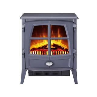 大人気❗️Dimplex 電気暖炉 Jazz Gray グレー