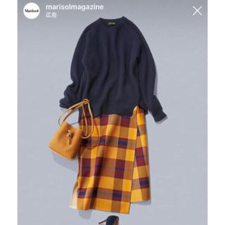 Drawer - 最終値下げ 今期チェック巻きスカート