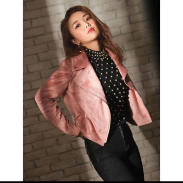 eimy istoire(エイミーイストワール)のeimy ♥️スエードライダースJK レディースのジャケット/アウター(ライダースジャケット)の商品写真