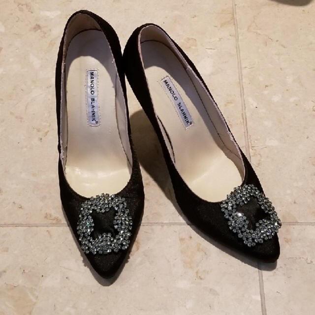 MANOLO BLAHNIK(マノロブラニク)のマノロブラニック レディースの靴/シューズ(ミュール)の商品写真