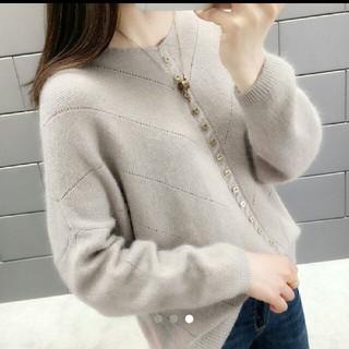 dholic - 韓国ファッション ショート丈のニット