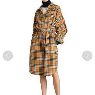 BURBERRY - Burberry 正規品 2019年 メガノバチェック シャツワンピース