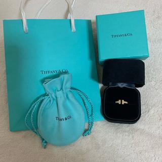 ティファニー(Tiffany & Co.)のティファニー Tワイヤーリング 18金(リング(指輪))
