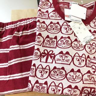 Wacoal - 新品 ワコール リサラーソン 綿100% パジャマ 赤