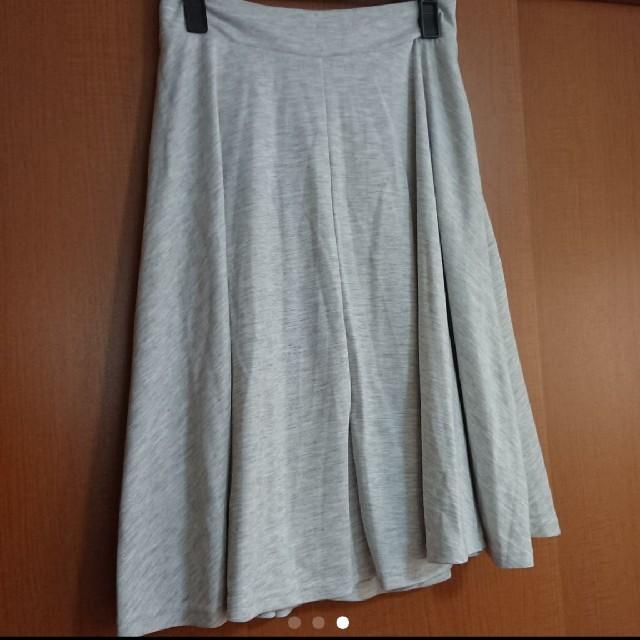 THE EMPORIUM(ジエンポリアム)のTHE EMPORIUM フレア スカート M グレー レディースのスカート(ひざ丈スカート)の商品写真