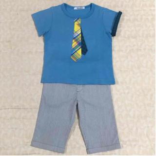 familiar - familiar    Tシャツ  &  ハーフパンツ  size  100cm