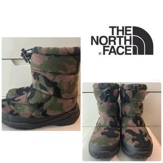 THE NORTH FACE - ノースフェイス ヌプシ  ブーツ カモフラージュウール