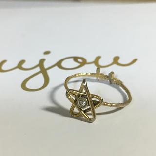ジュジュ(joujou)のレア ほぼ新品joujouピンキーリング(リング(指輪))