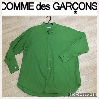 COMME des GARCONS - ギャルソン☆2008AW  グリーン シャツ