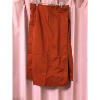 ユニクロ(UNIQLO)のUNIQLO 巻きスカート(ひざ丈スカート)