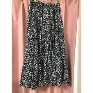 GU - GU 小花柄スカート