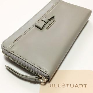 JILLSTUART - 展示品!ジルスチュアート レイヤード ラウンドファスナー長財布e967