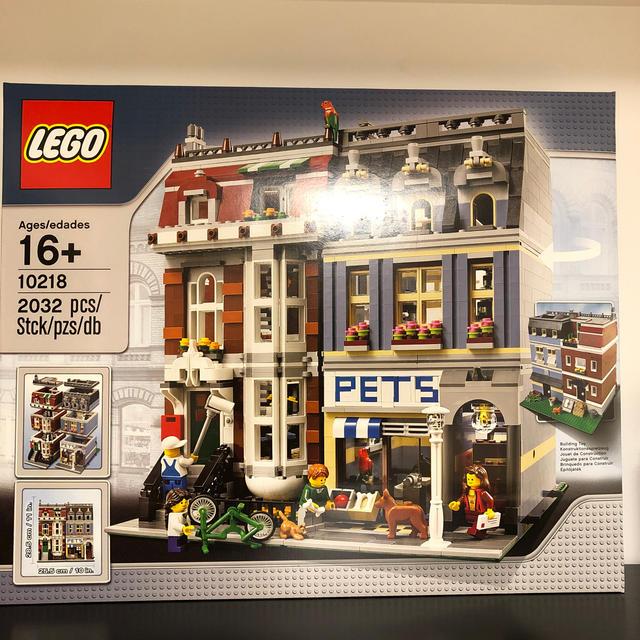 Lego(レゴ)のLEGO 10218 ペットショップ 新品未開封 希少 キッズ/ベビー/マタニティのおもちゃ(積み木/ブロック)の商品写真