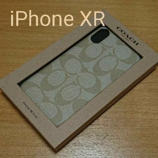 COACH - 新品 ⭐ COACH コーチ iPhoneケース アイボリー ⭐